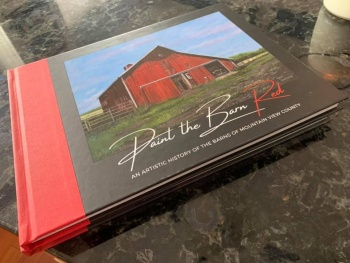Documenting rural culture through paintings and stories of barns in Mountain View County.