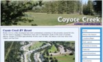 Coyote Creek Condo Corp is a gated, secure community. Besides being a first class relaxation resort, Coyote Creek has also provided its owners with a sound financial investment.
