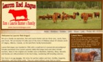 Lauron Red Angus was founded in 1984 with a small herd of commercial and pedigreed females. It is a family run operation, with Ron and Laurie Hunter and their three sons, Jared, Ryan, and Travis. They are located 10 miles east of the town of Didsbury.