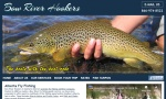 Bow River Hookers offers Fly Fishing Adventures for Brown trout and Rainbow trout on the Blue Ribbon Bow River that runs through the City of Calgary in Alberta.