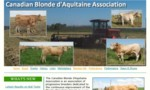 Canadian Blonde d'Aquitaine Association is an association of progressive breeders dedicated to the continuous improvement of the Blonde dAquitaine breed, in a way that provides seedstock with superior breeding values for both the commercial and purebred cattleman.