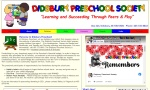 The Didsbury Preschool Society helps prepare young children from ages 3 - 5 for kindergarten.